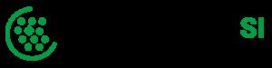 Logo Spazio Includersi, formato da un insieme di punti sparsi con un elemento quadrato al centro